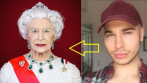 Makeup artist can turn himself into any celebrity you could think of