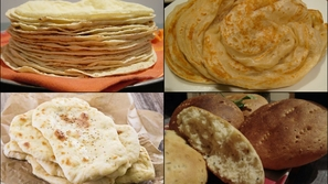 Bread around the world: same ingredients different shapes
