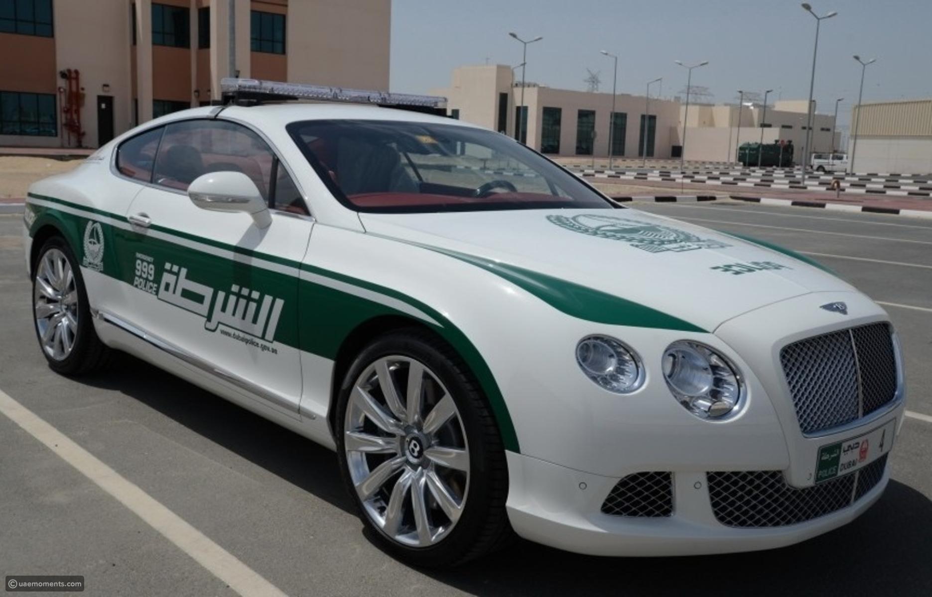 Top 10 Exotic Cars of Dubai Police Fleet e7awi