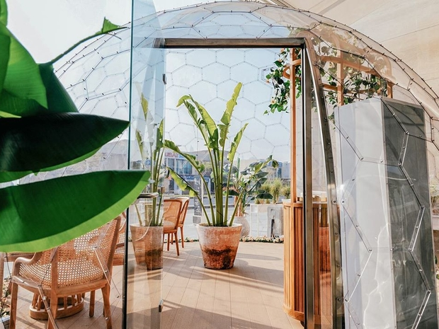 This Café In Dubai Now Has These Picturesque Domes To Dine In