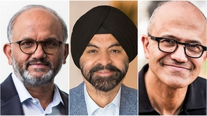 Here are the C Level Executives of Indian origin